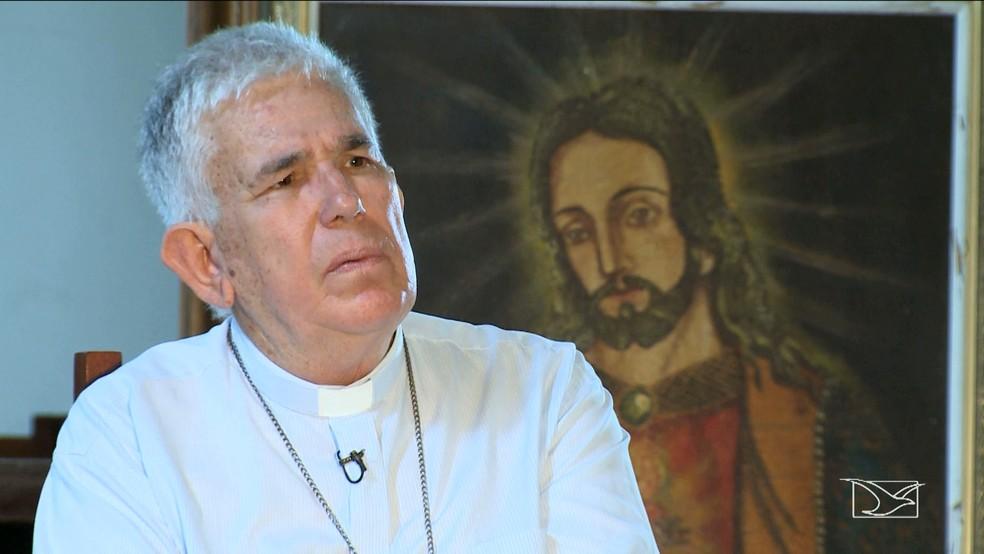 arcebispo de São Luís garante que os movimentos não são contra o progresso (Foto: Reprodução TV Mirante)