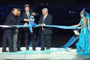 Confira as imagens históricas do dia de inauguração da Arena (Lucas Rizzatti/Globoesporte.com)