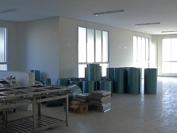Restaurante em Birigui ainda não foi inaugurado (Foto: Reprodução / TV Tem)