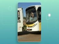 Acidente entre dois ônibus e um carro deixa feridos em Rio Branco