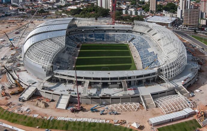estádio arena dunas natal (Foto: Divulgação  )