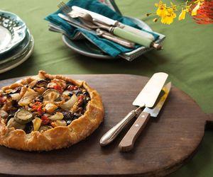 Torta rústica de ratatouille da Rita Lobo