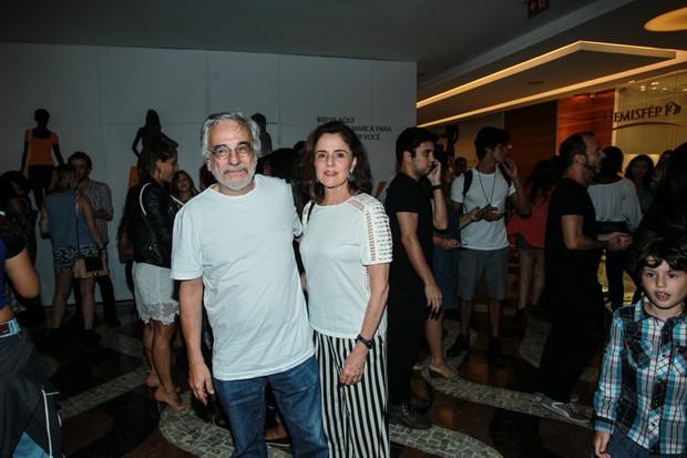 Marieta Severo e Aderbal Freire Filho (Foto: AgNews)