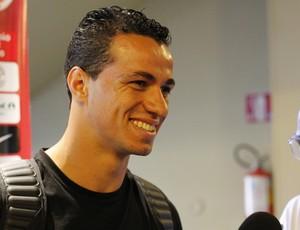 Leandro Damião atacante Inter (Foto: Diego Guichard / GLOBOESPORTE.COM)