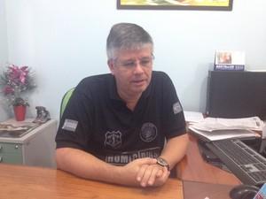 Delegado Alan Moutinho (Foto: John Pacheco/G1)
