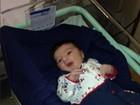 Beth Szafir visita neto na maternidade: 'Ele é lindo, lindo'. Fotos!