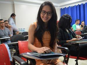 Representante da agência Rio Publicidade, Rohanne Feitosa (Foto: Jorge Abreu/Rede Amazônica)