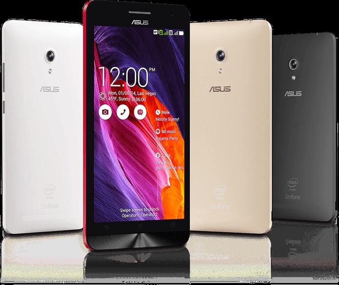 Zenfone 6 tem tela com resolução HD e mais nitidez do que LG G3 Stylus (Foto: Reprodução/Elson de Souza)