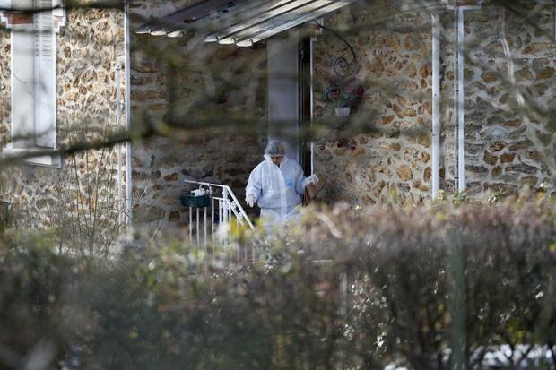 Crime ocorreu na cidade de Dampmart (Foto: Kenzo Tribouillard/AFP)