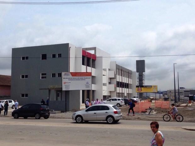 Centro de Controle Operacional (CCO) funcionará em Santos (Foto: Mariane Rossi/G1)