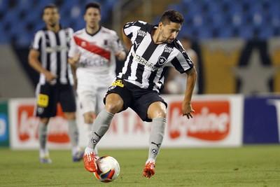 Elvis Botafogo x Paraná (Foto: Vitor Silva/ SSPress)