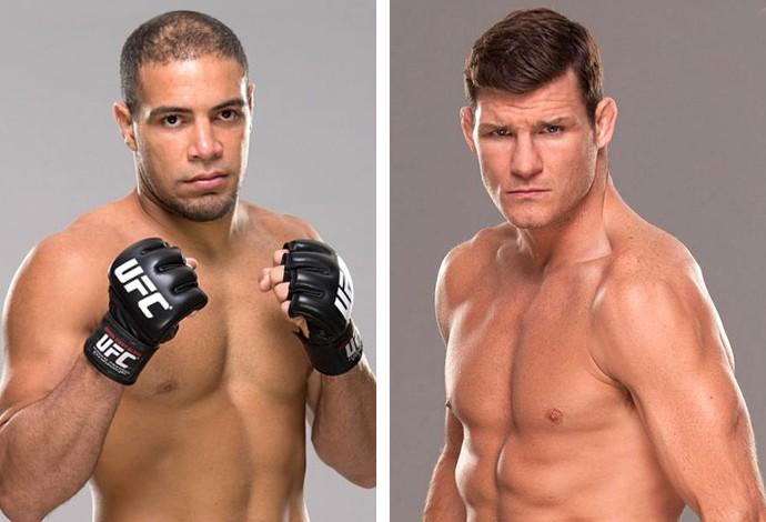 Thales Leites x Michael Bisping UFC (Foto: infoesporte)