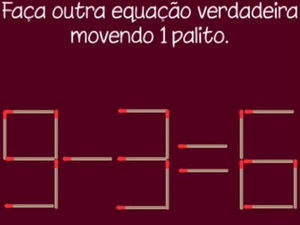Desafios com Palitos estimula o ensino das quatro operações matemáticas (Foto: Arquivo Pessoal)
