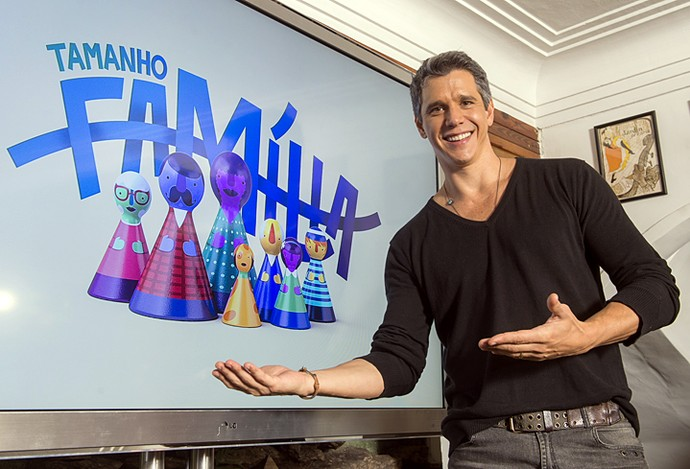 Márcio Garcia apresenta o 'Tamanho Família' nas tardes de domingo a partir de 10/7 (Foto: João Cotta / TV Globo)