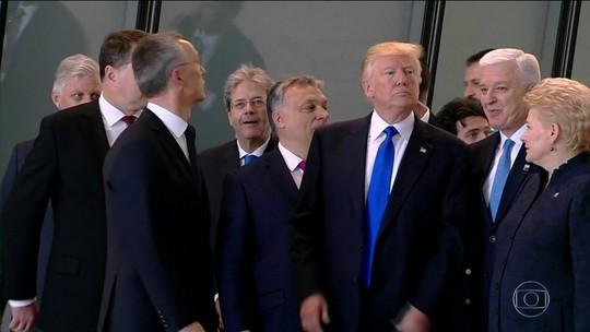 Na Bélgica, Trump faz críticas em reunião de líderes da Otan