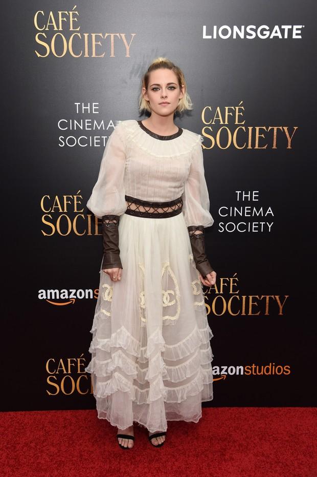Kristen Stewart em première de filme em Nova York, nos Estados Unidos (Foto: Jamie McCarthy/ Getty Images/ AFP)