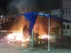Presépio de igreja em SP é incendiado e fica destruído na noite de natal