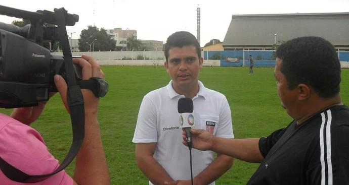 Wemerson Carvalho, técnico do Lagarto (Foto: Divulgação/Lagarto FC)