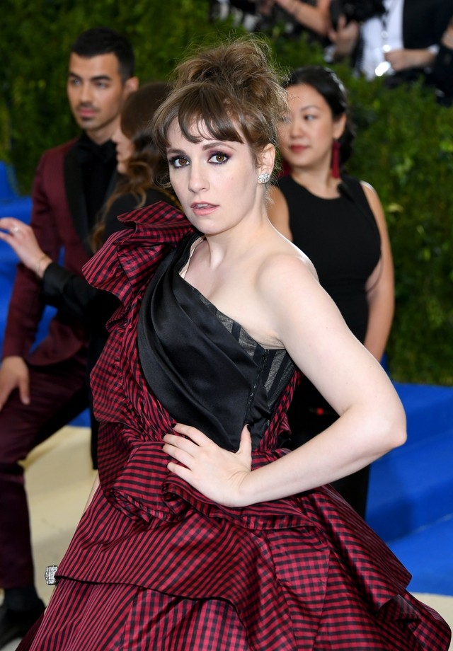 Lena Dunham no Met Gala 2017 (Foto: Getty Images)