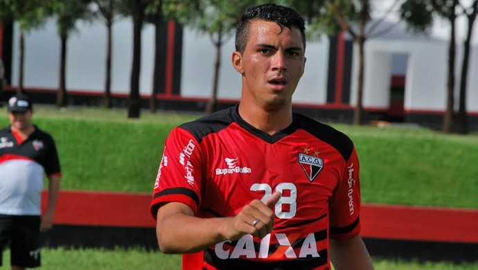 Yago , atacante do Atlético-GO (Foto: Guilherme Salgado/Atlético-GO)