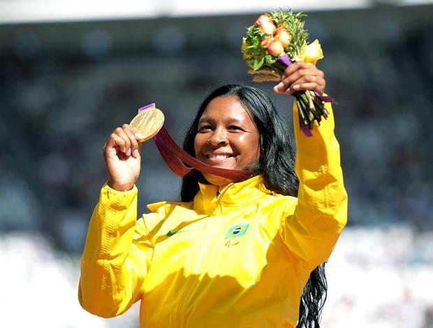 Shirlene Coelho ouro Paralimpíadas (Foto: Getty Images)