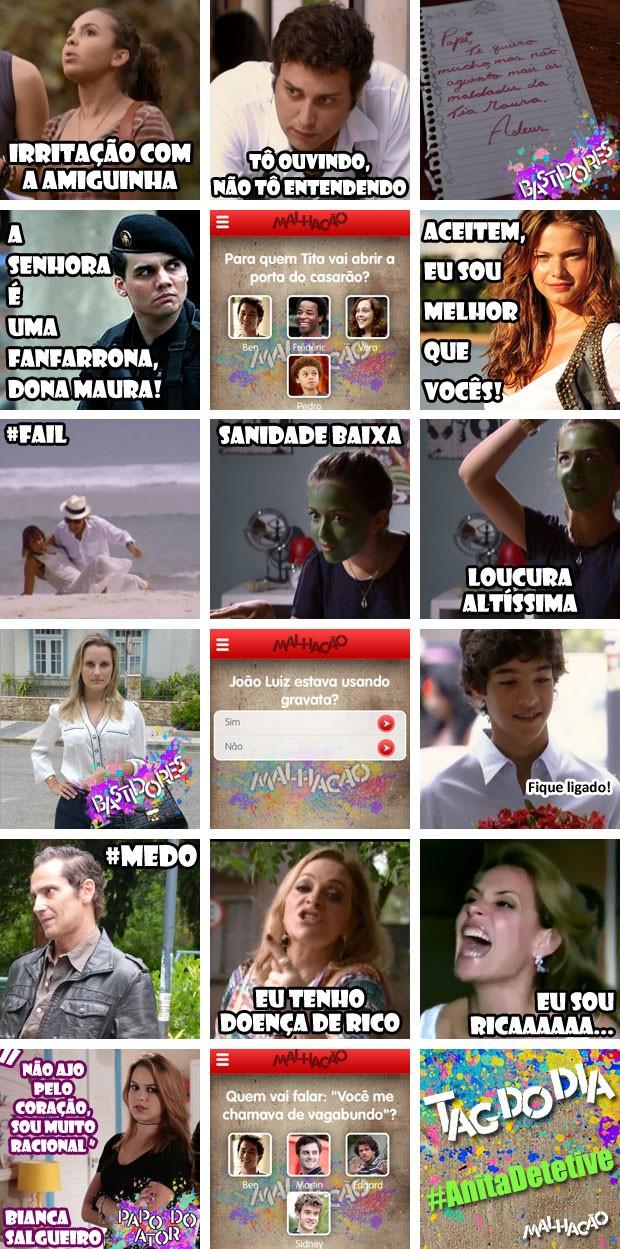 crônica capítulo 181 (Foto: Malhação / TV Globo)