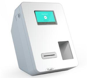 Caixa eletrônico de Bitcoin da Lamassu conta com leitor de código QR e de cédulas (Foto: Divulgação)