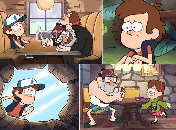Dipper vai ter que enfrentar muitos perigos para virar homem (Foto: Divulgação/Reprodução)