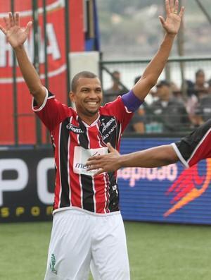 São Paulo, de Amoroso, vence o Fluminense na semifinal do Brasileiro de showbol (Foto: Divulgação/Ricardo Cassiano)