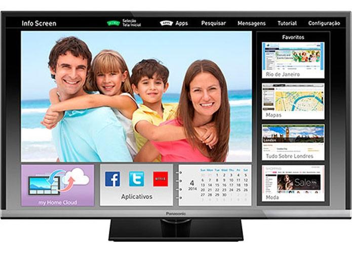 Smart TV Panasonic tem qualidade de imagem HD com 32 polegadas (Foto: Divulgação/Panasonic)
