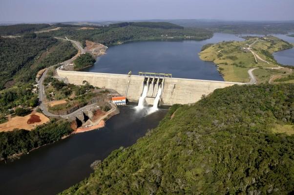 Hidrelétrica de Mauá no Paraná (Foto: Divulgação)