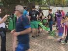 Pacientes com doenças raras protestam em Florianópolis