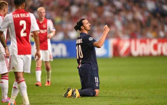 Zlatan Ibrahimovic PSG Ajax (Foto: AFP)