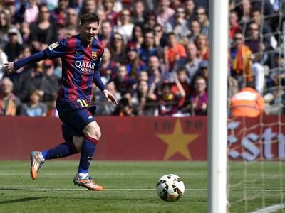 Messi, Barcelona x Rayo Vallecano (Foto: AFP)