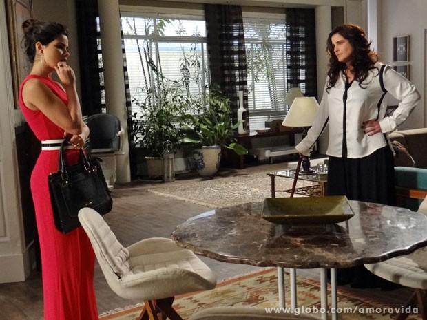 Mariah pede que Paloma seja poupada (Foto: Amor à Vida/TV Globo)