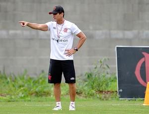 Jorginho treino Flamengo (Foto: Fábio Castro / Agif / Agência Estado)