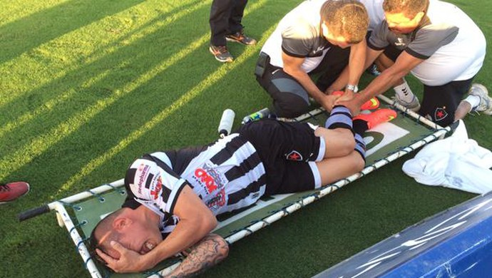 Rafael Oliveira, Botafogo-PB (Foto: Lucas Barros / GloboEsporte.com)
