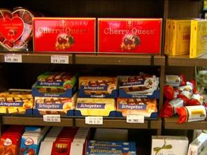 Chocolates importados estão 15% mais caros (Foto: Reprodução/EPTV)