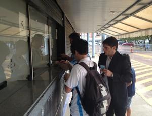 Grêmio vende ingressos no Olímpico para o Gre-Nal  (Foto: Tomas Hammes )