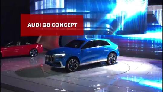 Audi Q8 estreia como conceito, mas já está confirmado para o Brasil