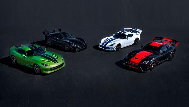 Dodge anuncia o fim da produção do Viper (Foto:  Divulgação)