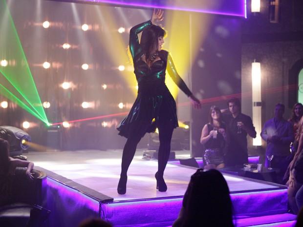 Thammy arrasa em cima do palco  (Foto: Salve Jorge/TV Globo)