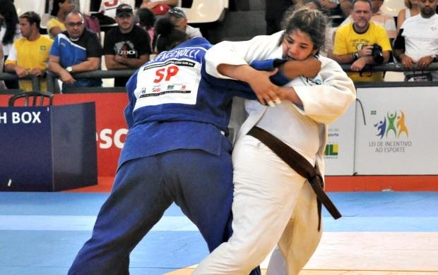 Camila Gebara é ouro no brasileiro sub-20 de judô (Foto: Divulgação/CBJ)