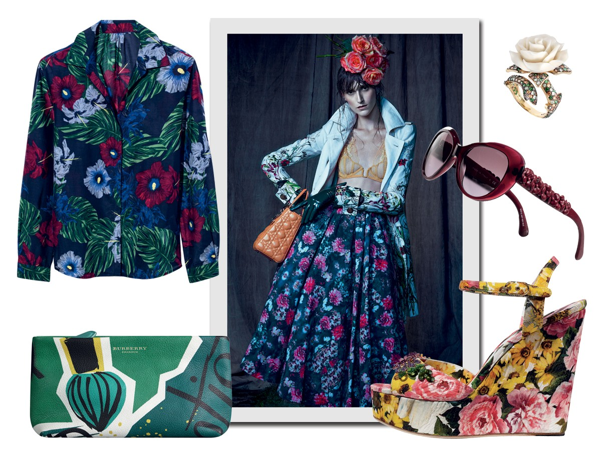 Richards R$ 298, Dryzun R$ 8.290, Chanel R$ 2.250, Burberry R$ 3.695, Dolce & Gabbana,  (Foto: Raymond Meier/trunk Archive e Flavio Battaiola (stills))