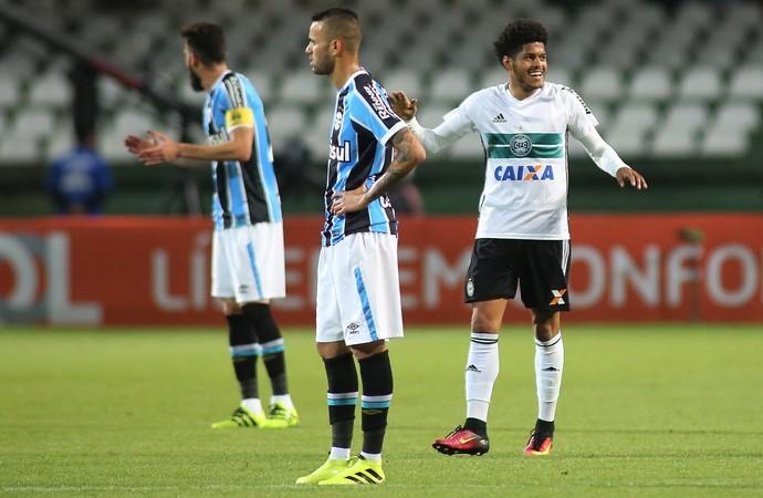 Luan Coritiba x Grêmio