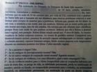 Divulgado laudo de exame de jovem que acusou prefeito de estupro