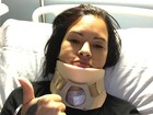 Hérnia de disco levou Ariadna para a mesa cirúrgica: 'Academia que causou'