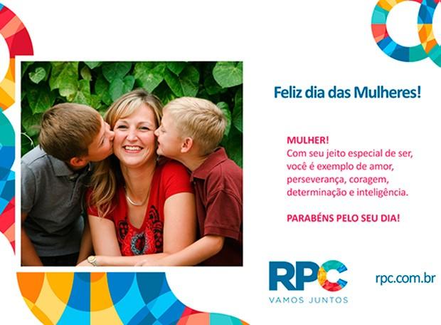 Comemore o Dia Internacional da Mulher ao lado da RPC (Foto: Divulgação/RPC)