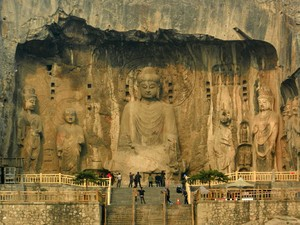 O leitor Anderson Hummel indicou as Grutas de Longmen, na China (Foto: Anderson Hummel/VC no G1)