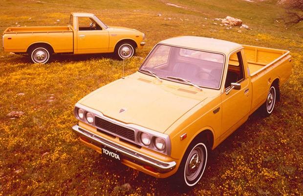 A segunda geração da Toyota Hilux surgiu em 1972 com foco no asfalto (Foto: Divulgação)